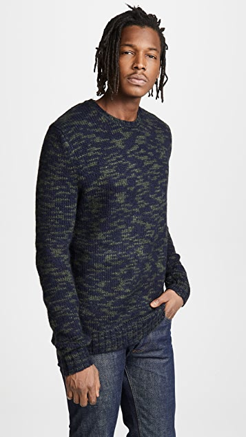 Woolrich John Rich & Bros. Printed Yarn Sweater