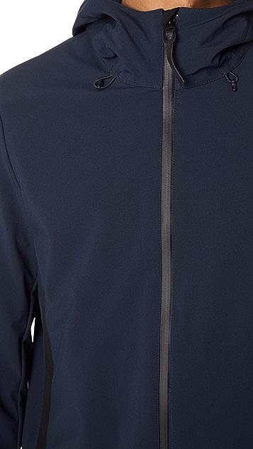 Woolrich John Rich & Bros. Soft Shell Hooded Jacket