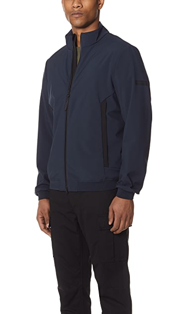 Woolrich John Rich & Bros. Soft Shell Bomber Jacket