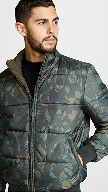 Woolrich John Rich & Bros. Winter Reversible Bomber Jacket