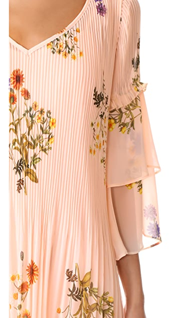 We Are Kindred Country Field Pleated Shift Dress