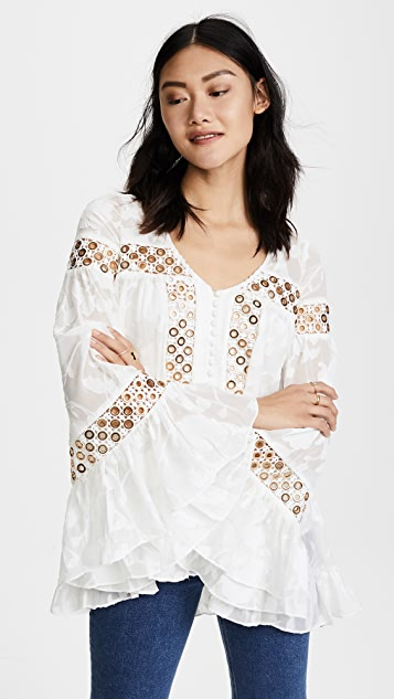 We Are Kindred Stephanie Oversized Blouse