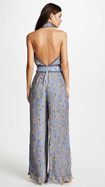 We Are Kindred Helena Pleated Jumpsuit
