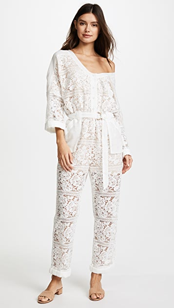 We Are Kindred Gisella Lace Jumpsuit