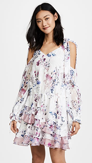We Are Kindred Alessandra Ruffle Mini Dress