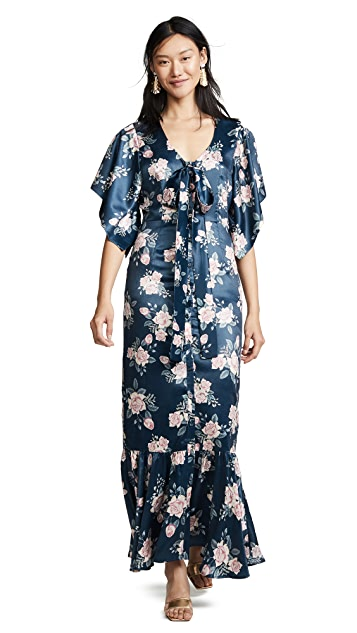 We Are Kindred Frenchie Tie Front Dress