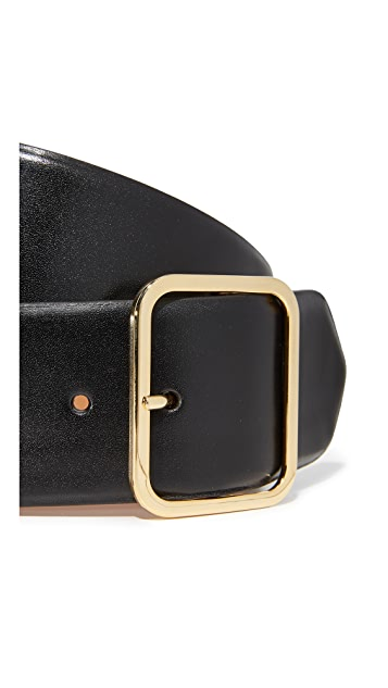 W.Kleinberg Leather Bar Belt