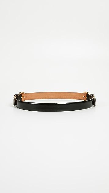 W.Kleinberg Double Buckle Belt