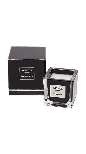 Welton London Black Onyx Candle