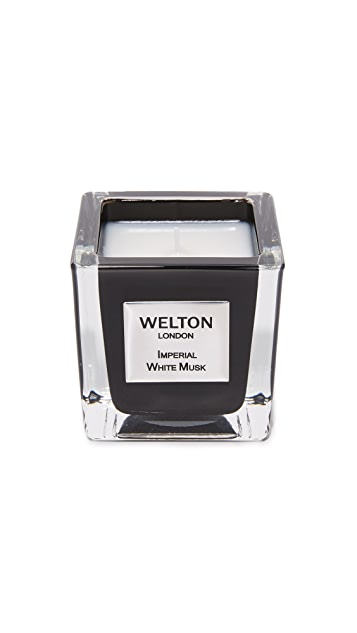 Welton London Imperial White Musk Candle