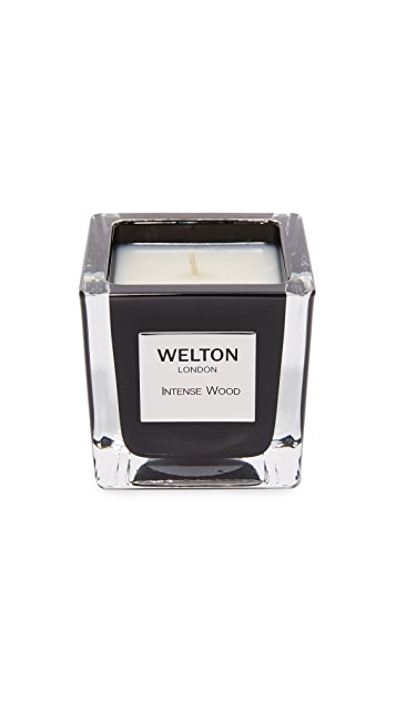 Welton London Intense Wood Candle