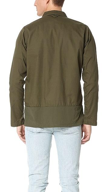 White Mountaineering Cotton Military Shirt Jacket