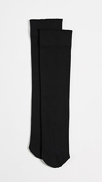 45458808e0e Wolford Velvet De Luxe 50 Knee High Socks