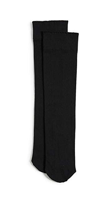 Wolford Velvet De Luxe 50 Knee High Socks