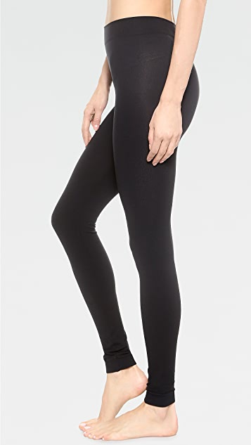 Wolford Velvet 100 Leg Support Footless Tights