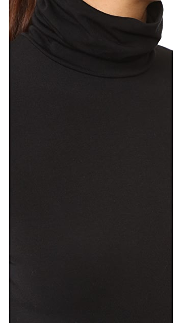 Wolford Viscose Turtleneck Pullover