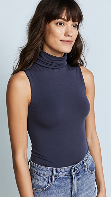 Wolford Mock Neck Bodysuit