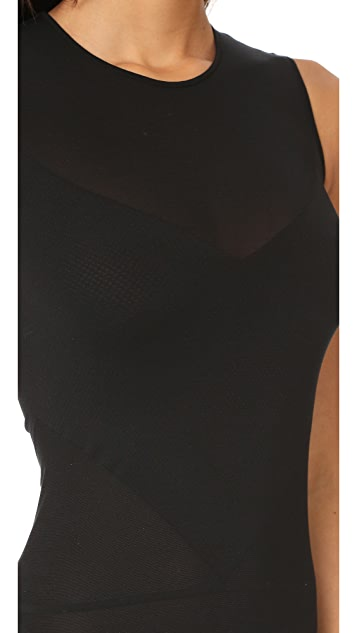 Wolford Transparent Nature String Bodysuit