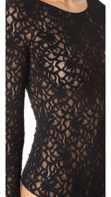 Wolford Arabesque String Bodysuit