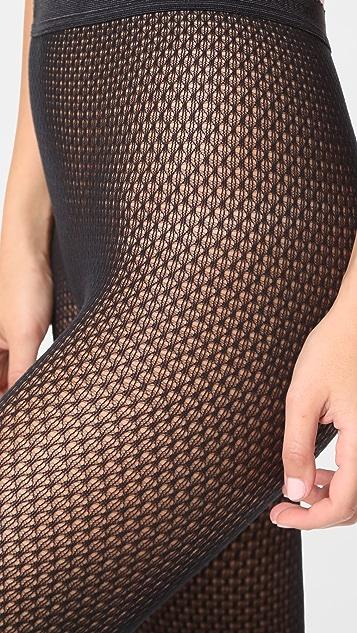 Wolford Rhomb Net Tights