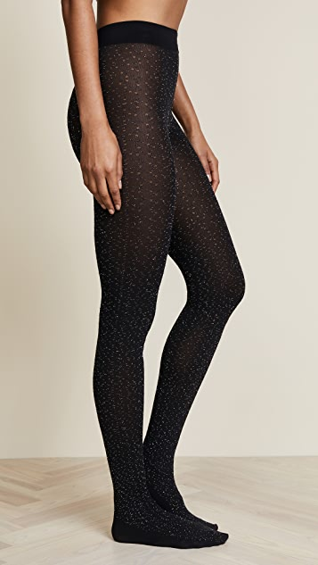Wolford Metallic Fringe Tights