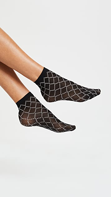 Wolford Dot Net Socks