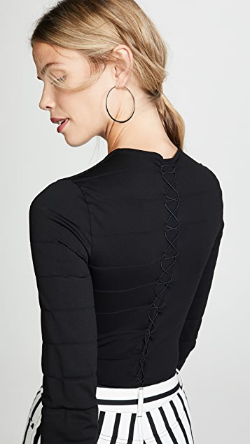Wolford Grace String Bodysuit
