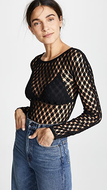 Wolford Athina String Bodysuit