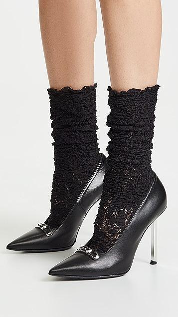 Wolford Camelia Socks