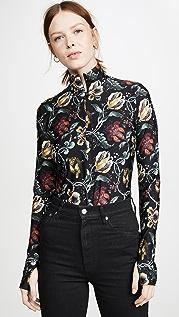 Wolford Jungle Print String Bodysuit