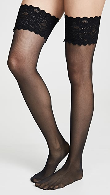 Wolford Satin Touch 20 Stay Up 连体袜
