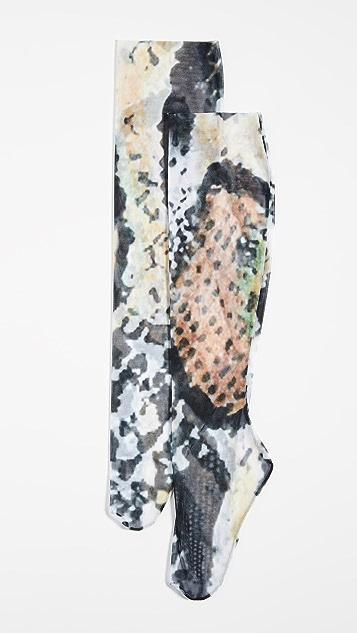 Wolford Scrunch Serpentes Socks