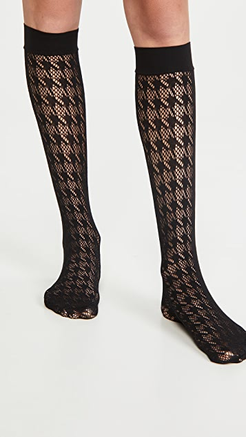 Wolford Dylan Knee High Socks