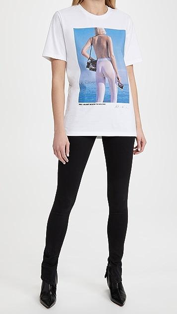 Wolford x Helmut Newton Ocean Blue T 恤
