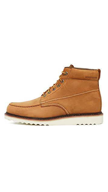 Wolverine 1883 Ranger Moc Toe Boots