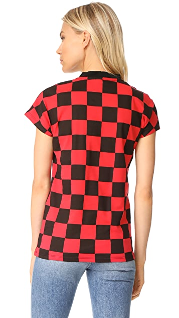 Won Hundred Proof Checkered Top