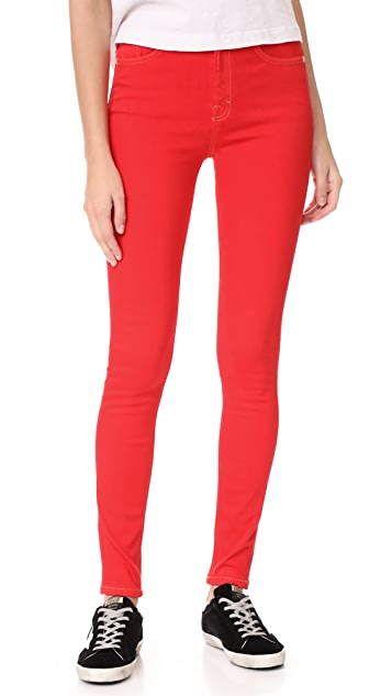 Won Hundred Marilyn Skinny Jeans - Red