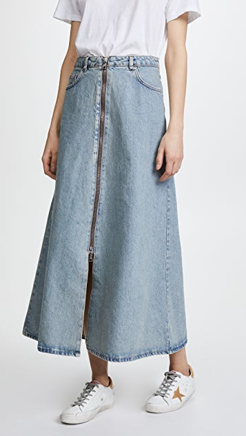 Won Hundred Elna Denim Skirt