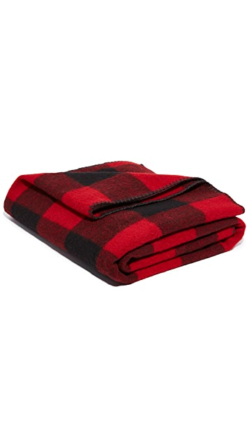 Woolrich Buffalo Check Blanket