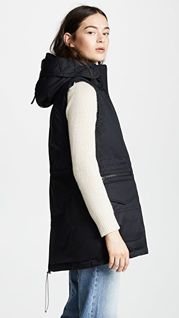 Woolrich Military Long Vest