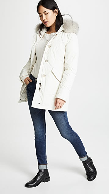 Woolrich Luxury Arctic Parka with Fur