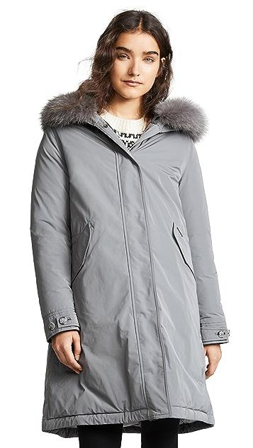 W's Fur Woolrich With City Shopbop Trim Parka dgZHg