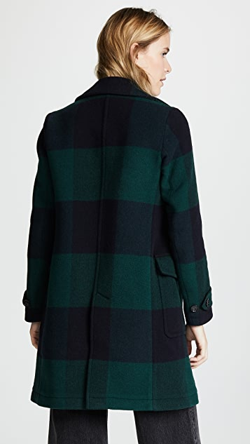 Woolrich W's Silverton Check Coat