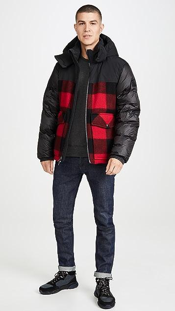 Woolrich Buffalo Check Bomber Jacket
