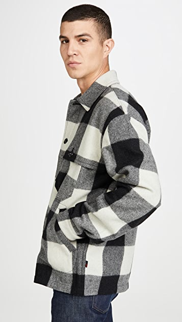 Woolrich Buffalo Stag Over Shirt