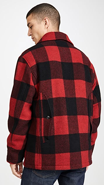 Woolrich Buffalo Check Wool Hunting Jacket