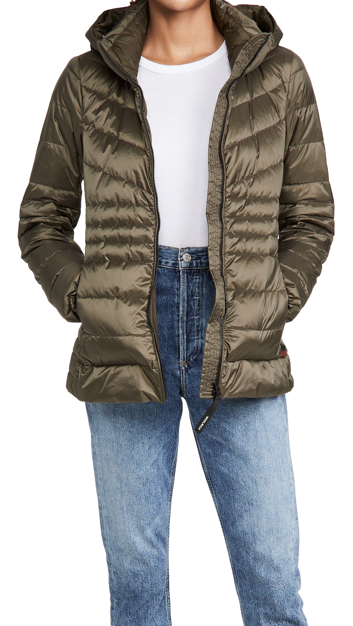 Woolrich Tech Hooded Jacket