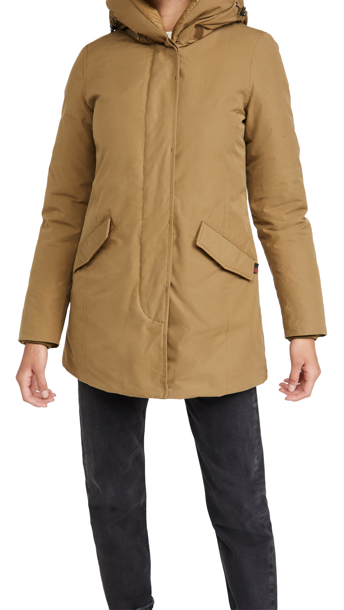 Woolrich Eco Bryd Cloth Parka