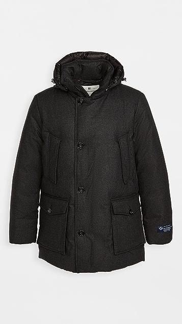 Woolrich Tweed Luxe Arctic Parka