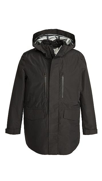 Woolrich 3-in-1 Tech Carcoat Parka